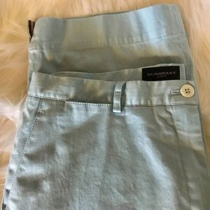 Burberry Golf Capri Pants Light Blue Size 8